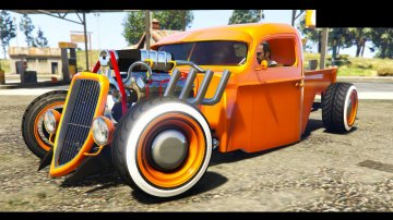 Ford Pickup Hotrod Style 1936 - GTA5