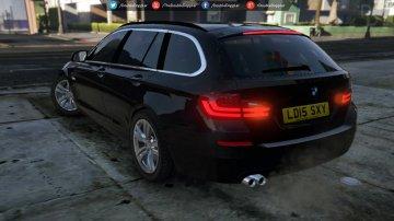 BMW 525D F11 2015 Vehicules Pour GTA V Sur GTA Modding