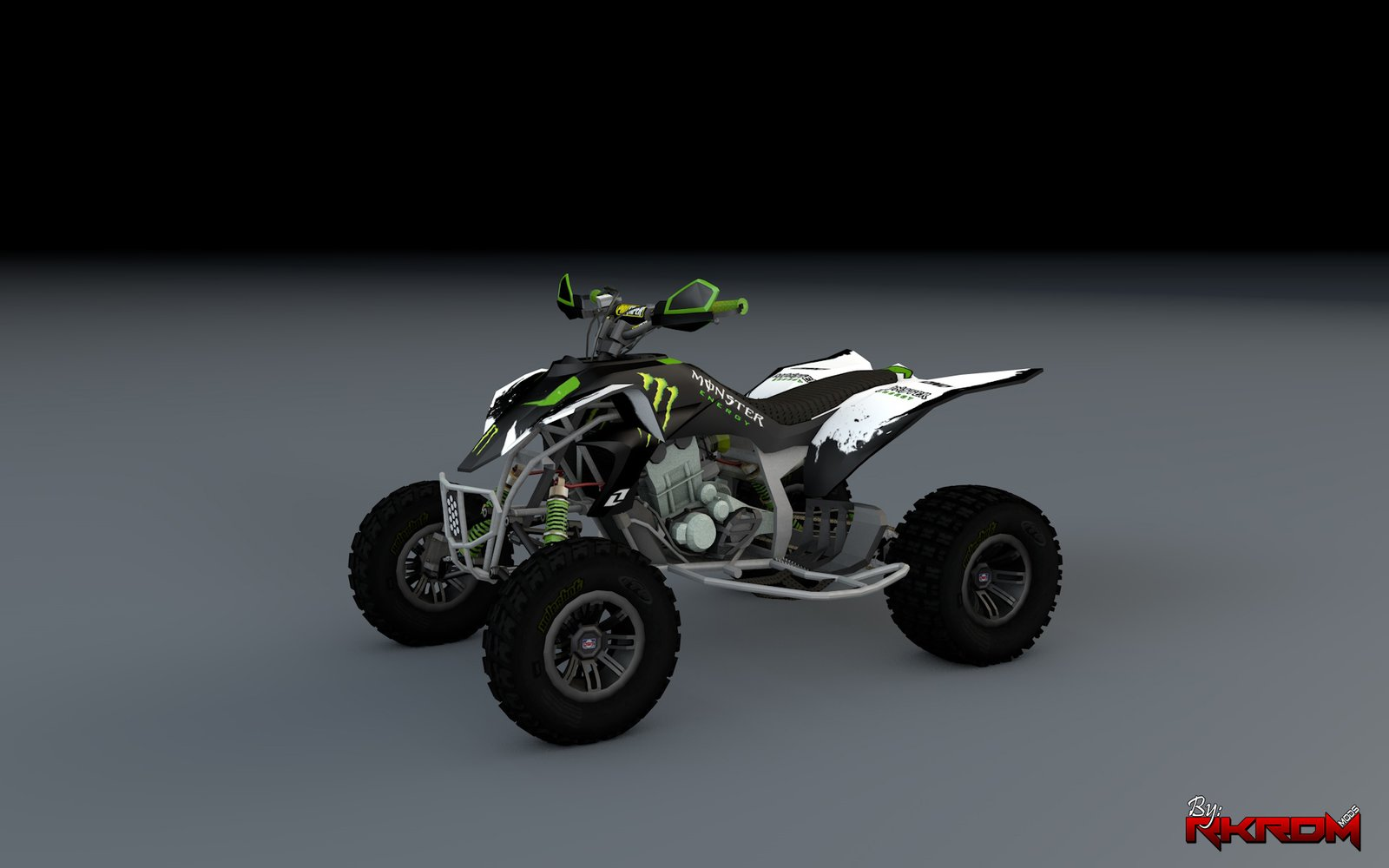 Yamaha YZF 450 ATV - Monster Energy - GTA5