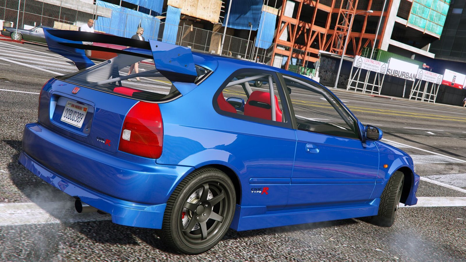 Honda civic type r ek9 vehicules pour gta v sur gta for Honda civic ek9