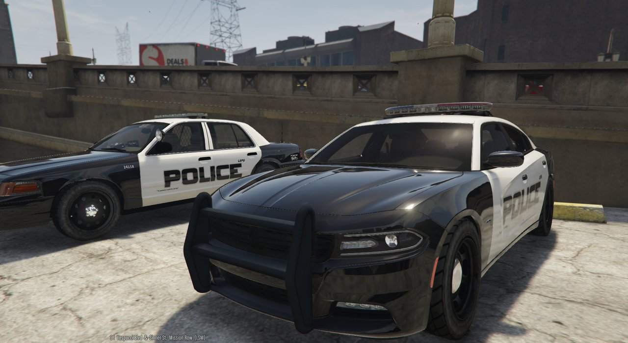 2015 LSPD Charger Arjent 4K - GTA5