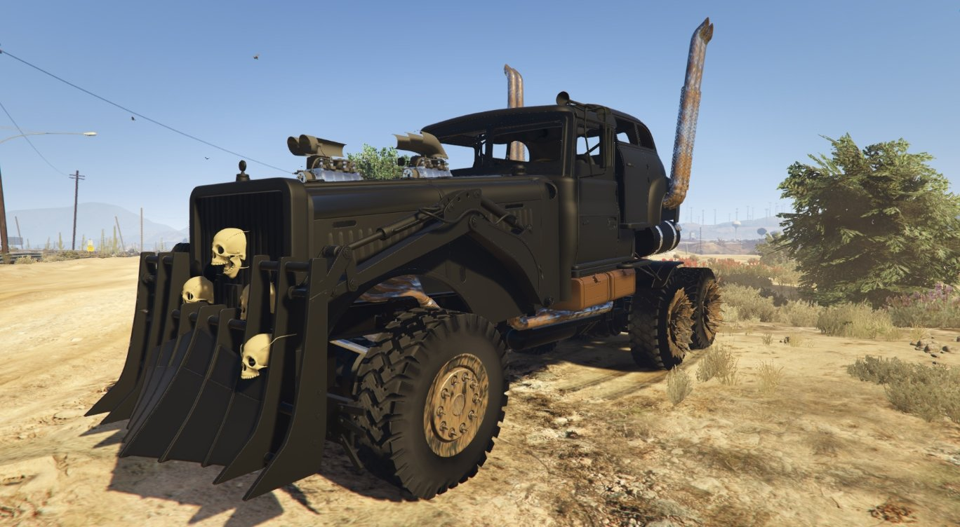 mad max the war rig vehicules pour gta v sur gta modding. Black Bedroom Furniture Sets. Home Design Ideas