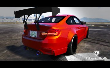BMW M4 F82 [LibertyWalk] - GTA5
