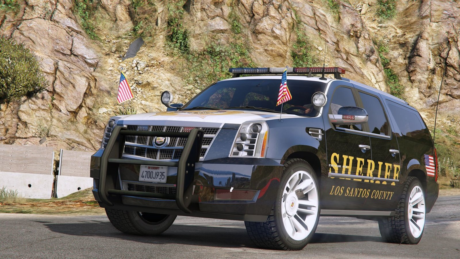 Cadillac Escalade Esv 2012 Police Version Vehicules Pour