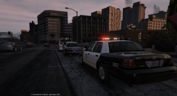 Police Towtruck - GTA5