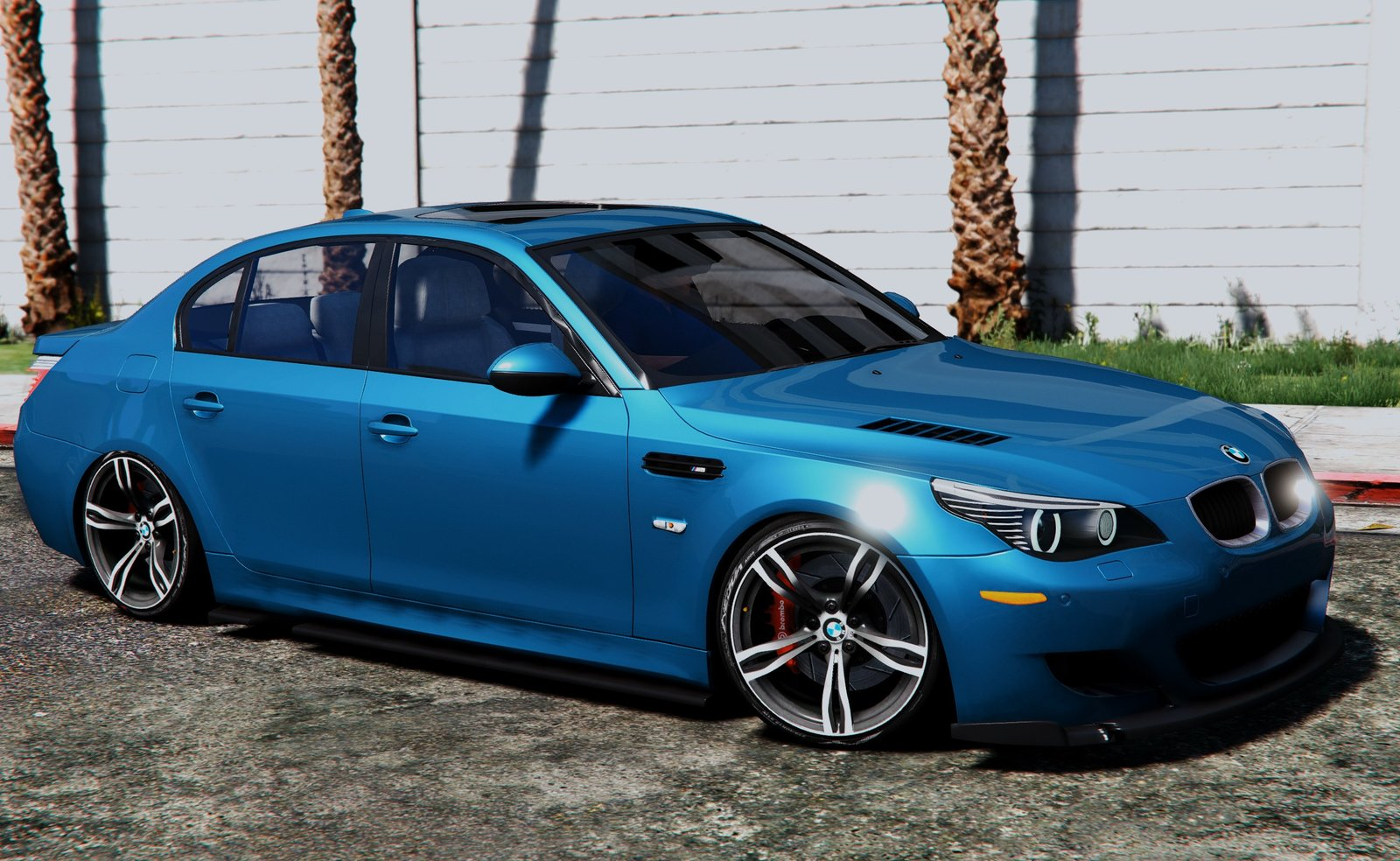 bmw m5 e60 vehicules pour gta v sur gta modding. Black Bedroom Furniture Sets. Home Design Ideas