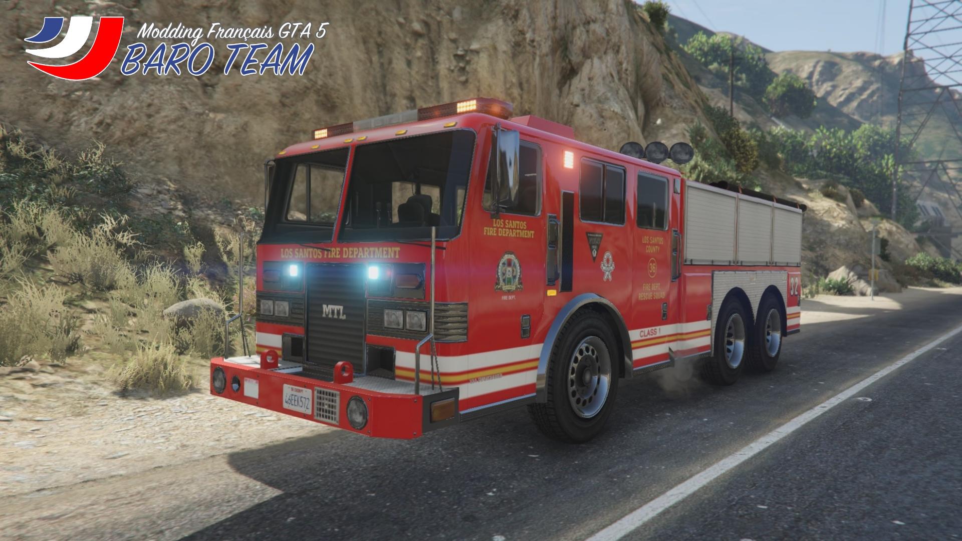 Camion De Pompiers V 233 Hicule De Secours Routier