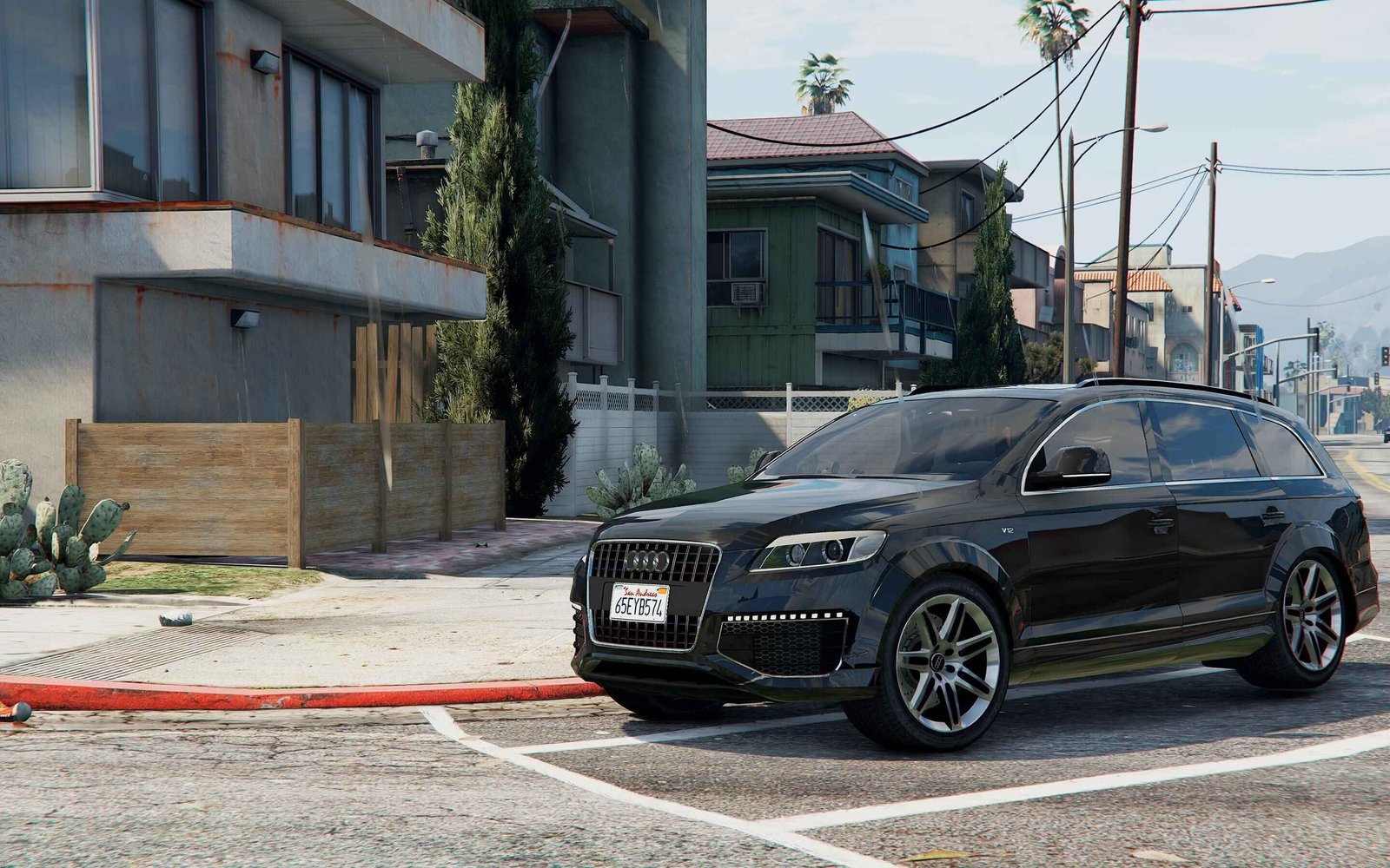 audi q7 2010 vehicules pour gta v sur gta modding. Black Bedroom Furniture Sets. Home Design Ideas