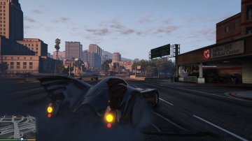 Batmobile 1989 - GTA5