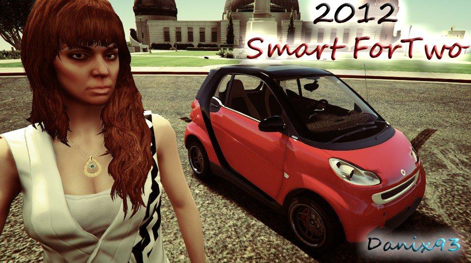 smart fortwo 2012 vehicules pour gta v sur gta modding. Black Bedroom Furniture Sets. Home Design Ideas