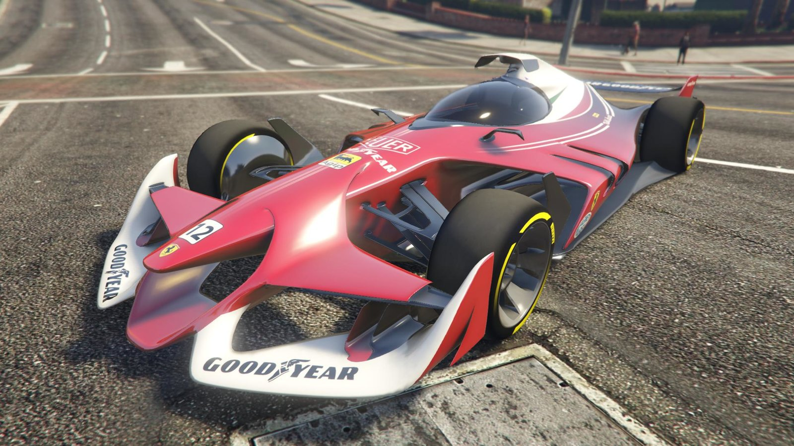 ferrari concept f1 vehicules pour gta v sur gta modding. Black Bedroom Furniture Sets. Home Design Ideas