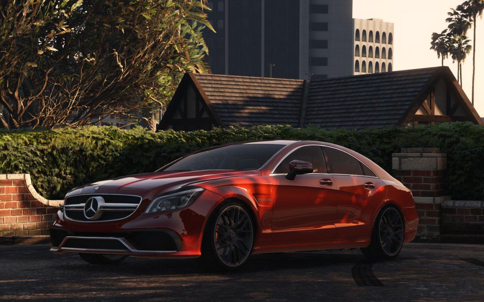 Mercedes Benz Cls 6 3 Amg 2015 Vehicules Pour Gta V Sur