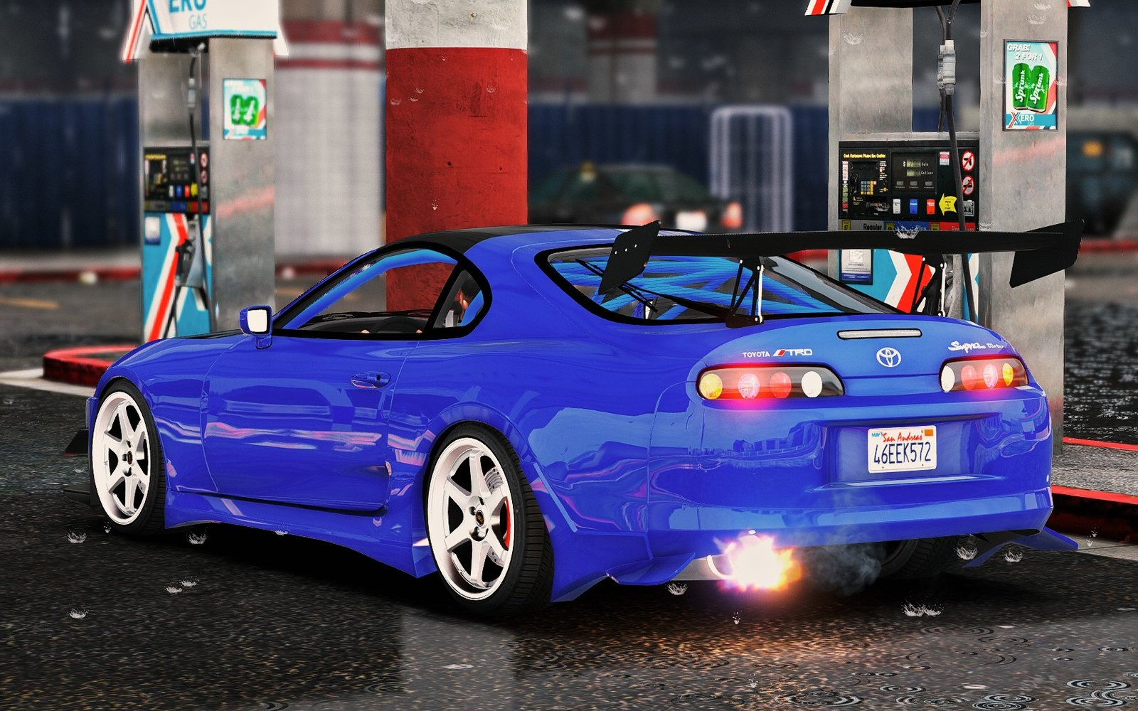 Toyota Supra Add On Stock More Tuning Vehicules