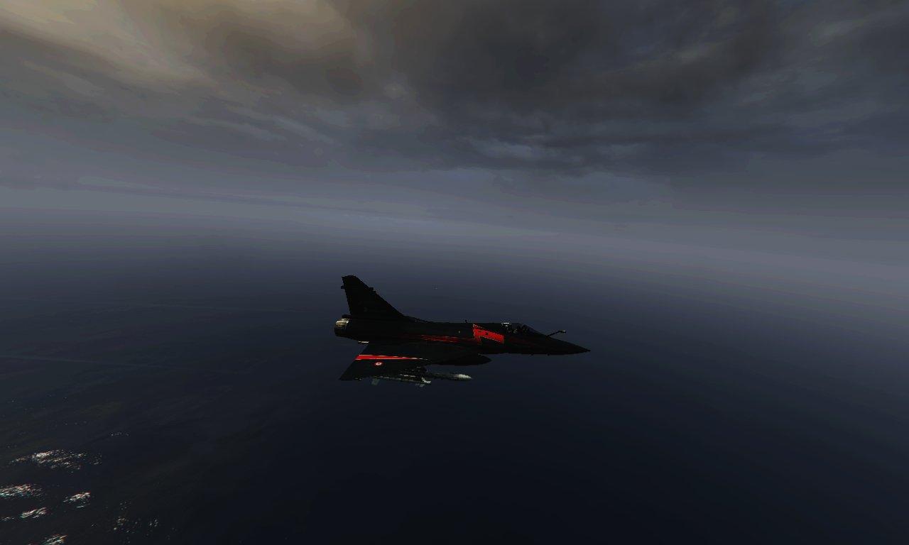Dassault mirage 2000 5 black vehicules pour gta v sur for Interieur mirage 2000