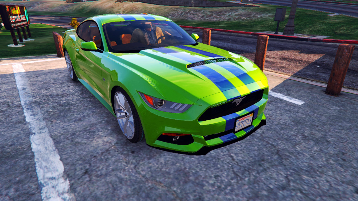 Ford Mustang Gt Need For Speed Movie Paintjob Vehicules Pour Gta V Sur Gta Modding
