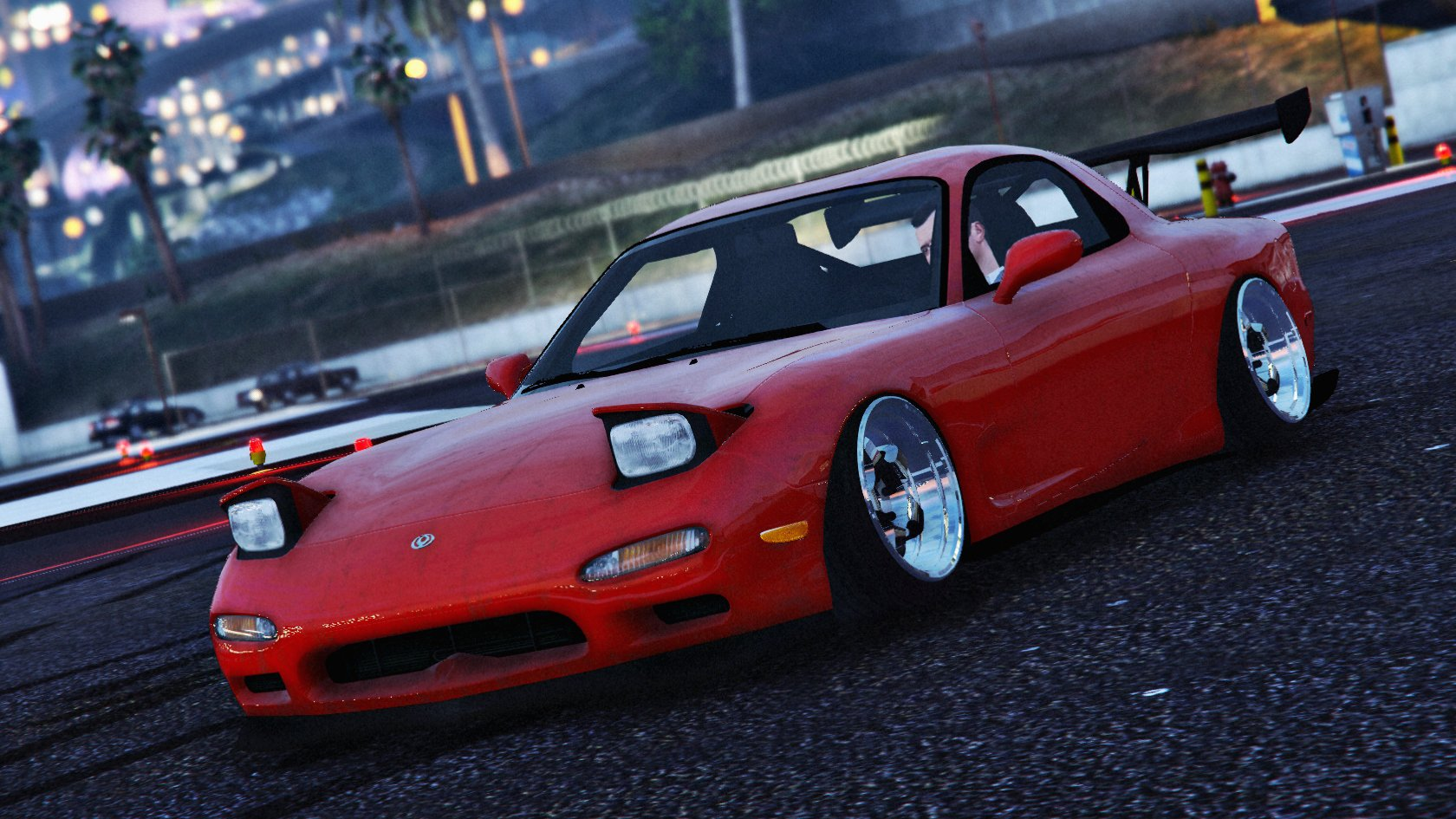 Mazda Rx7 Fd3s Stanced Cambered Vehicules Pour Gta V Sur Gta Modding