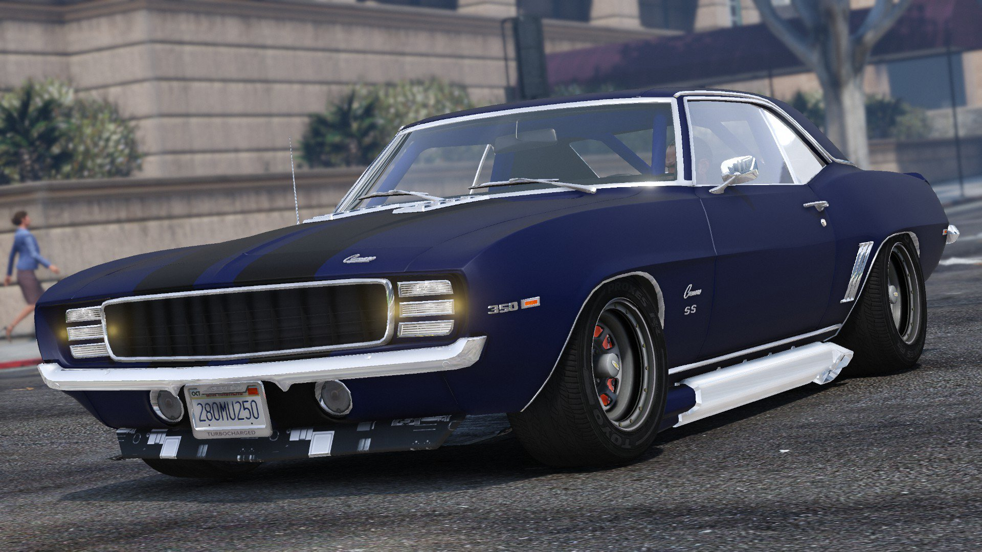 Chevrolet Ss 69 >> Chevrolet Camaro SS 1969 (Add-on) - Vehicules pour GTA V sur GTA Modding