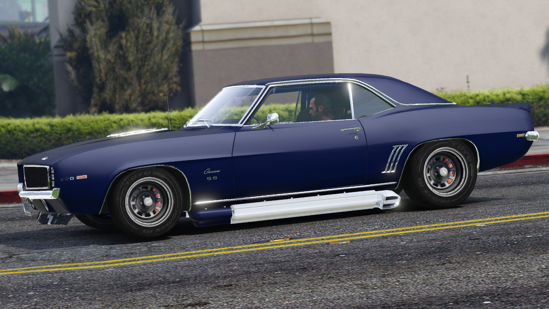 chevrolet camaro ss 1969 add on vehicules pour gta v sur gta modding. Black Bedroom Furniture Sets. Home Design Ideas
