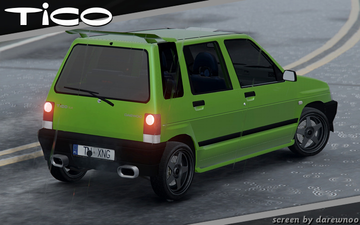 Daewoo-FSO Tico SX 1998 [Add-On + Tuning] - Vehicules pour ...