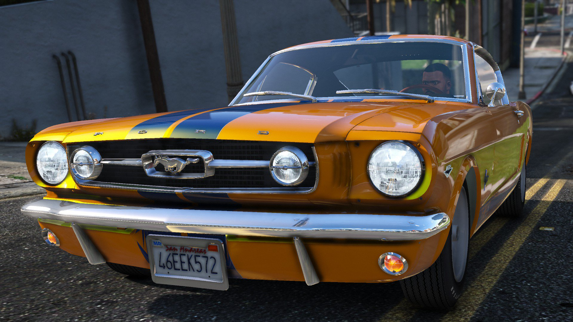 Ford Mustang Fastback Add On Vehicules Pour Gta V Sur