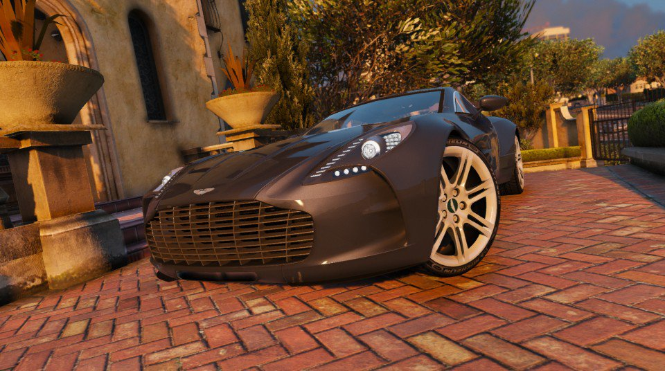 Aston Martin ONE-77 [Autovista / Auto-Spoiler / Add-On] - GTA5
