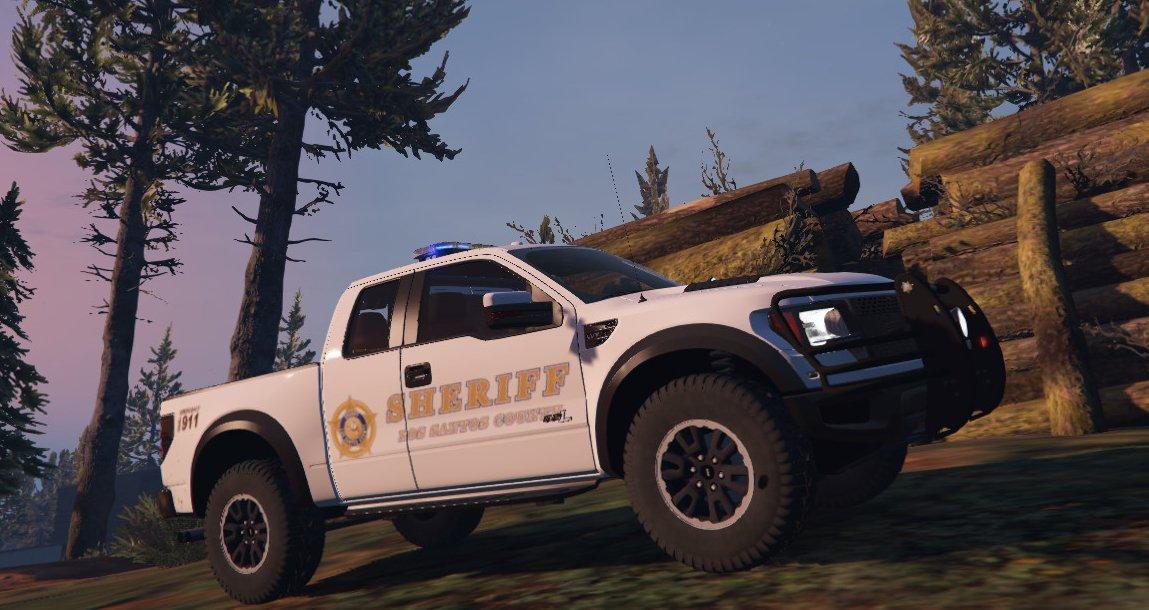 Ford Raptor Sheriff Vehicules Pour Gta V Sur Gta Modding