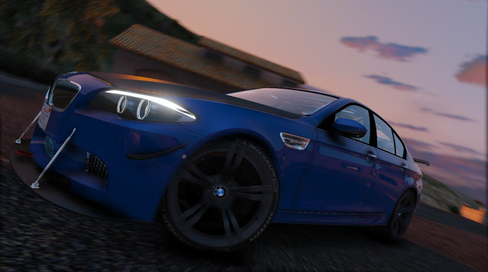 Bmw M5 F10 2012 Add On Tunable Vehicules Pour Gta V