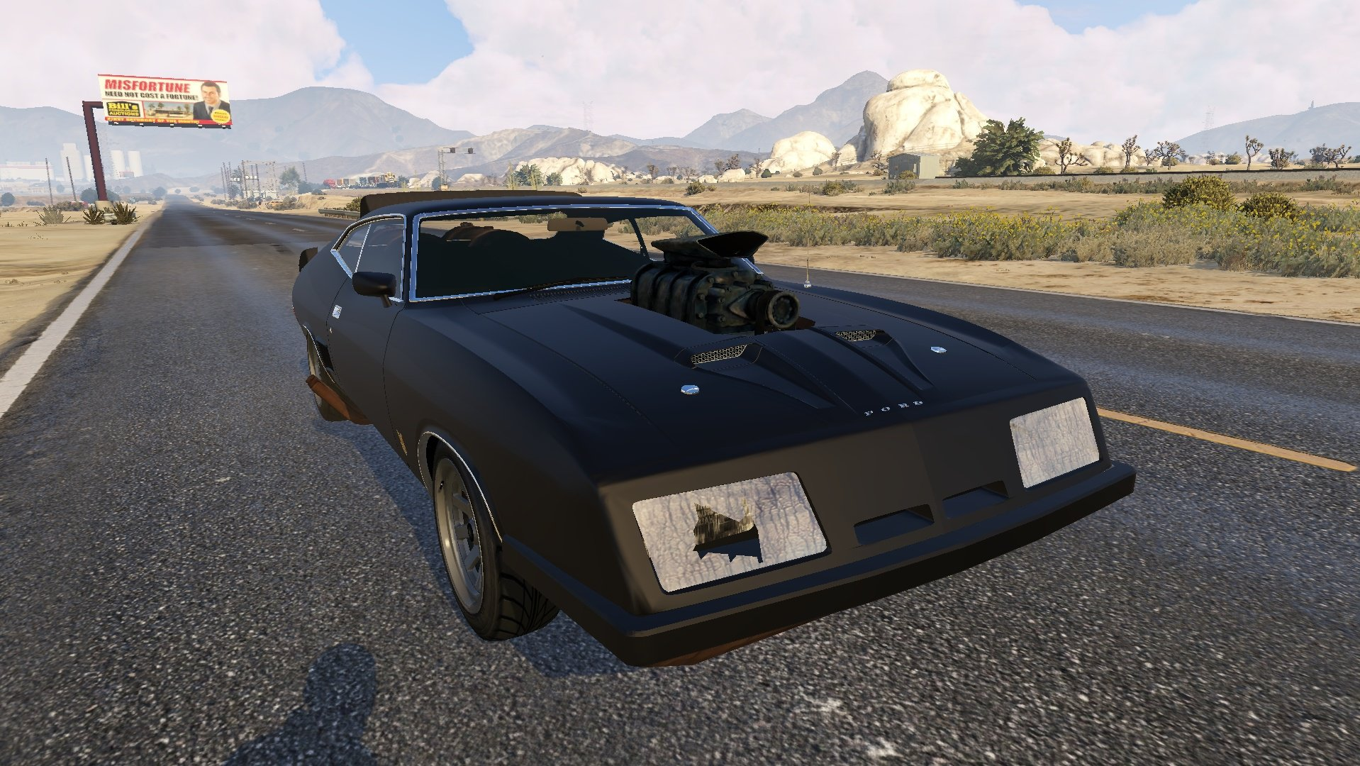 Ford Falcon Xb Gt 351 1973 Tuning Vehicules Pour Gta V