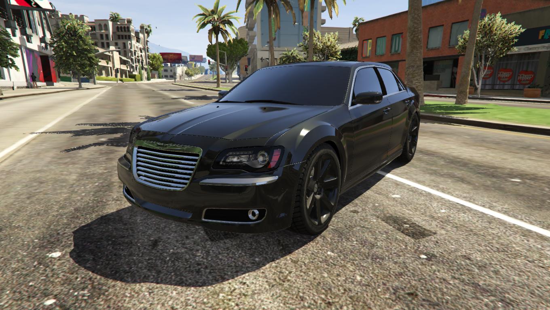 Chrysler 300 SRT8 2012 Vehicules Pour GTA V Sur GTA Modding