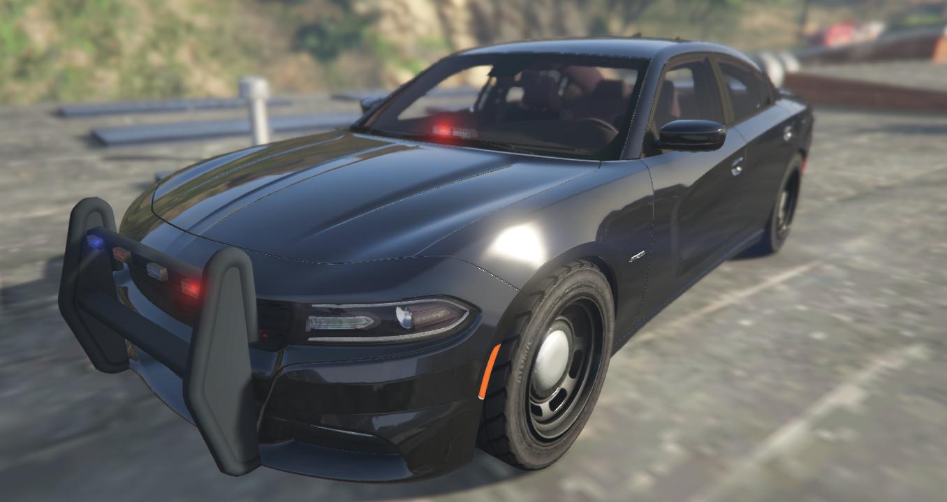 Dodge Charger 2015 Unmarked Vehicules Pour Gta V Sur Gta