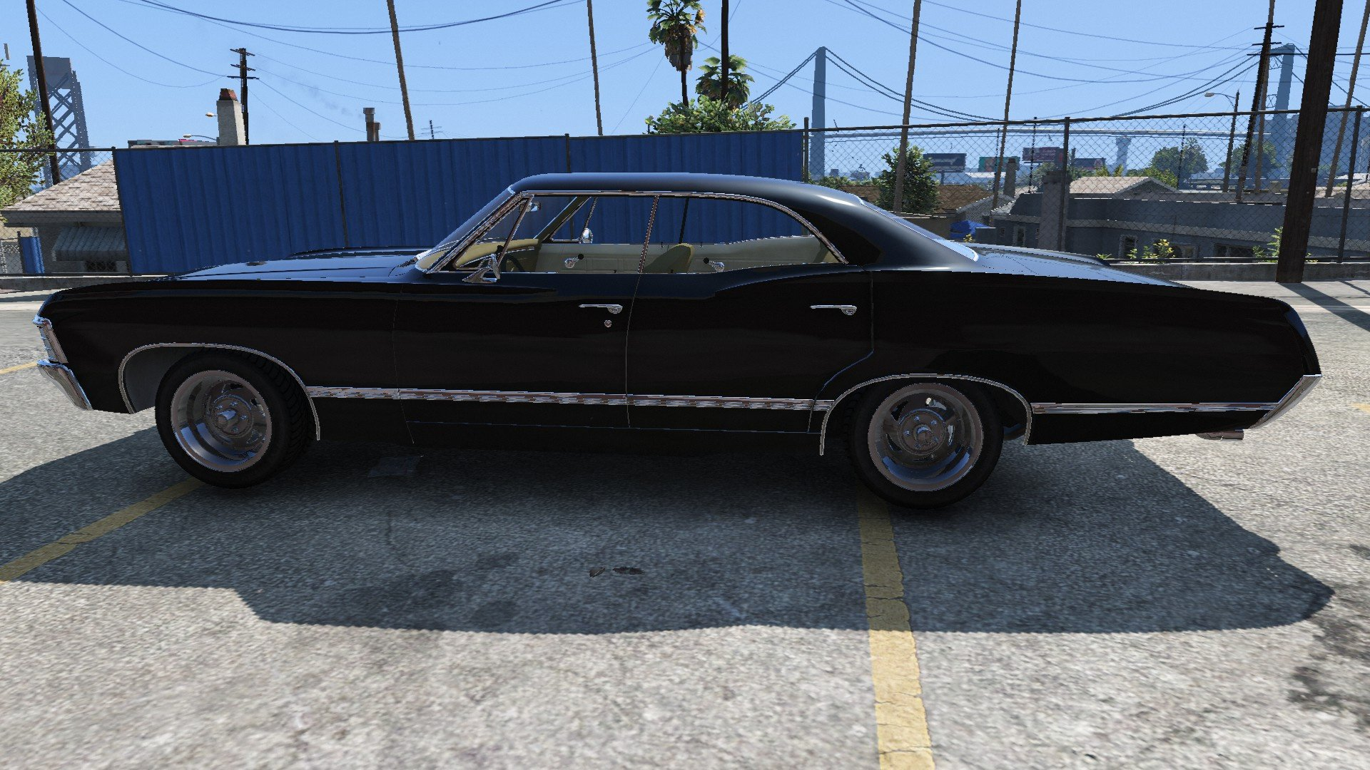 chevrolet impala 1967 vehicules pour gta v sur gta modding. Black Bedroom Furniture Sets. Home Design Ideas
