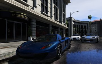 McLaren MP4-12C [HQ] - GTA5
