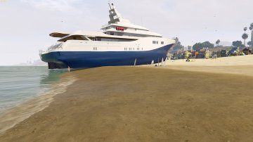 Drivable Yacht IV [Add-On] - GTA5