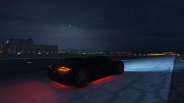 Adder with automatic (retractable) spoiler - GTA5