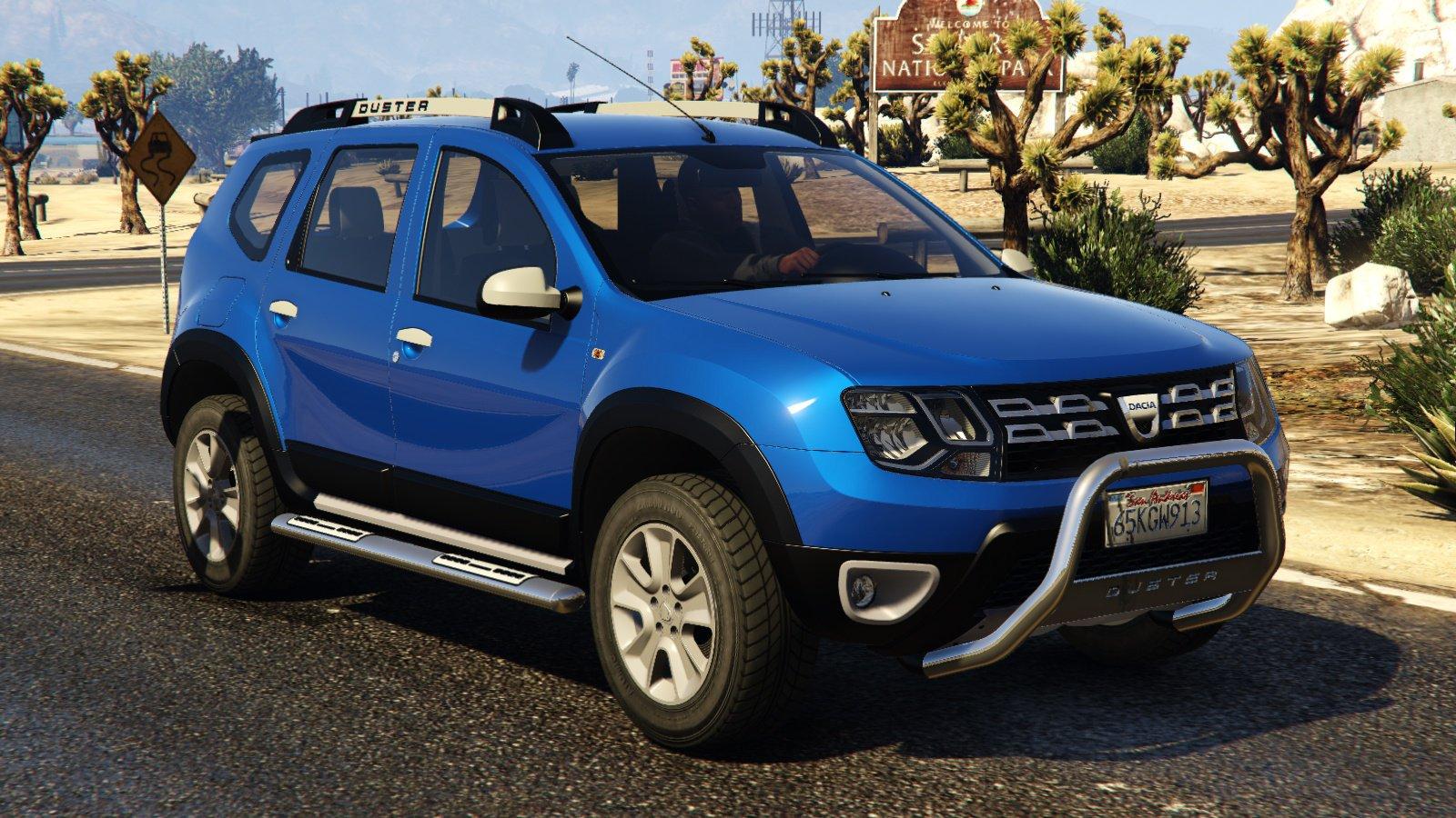Dacia duster 2014 vehicules pour gta v sur gta modding for Interni dacia duster 2014