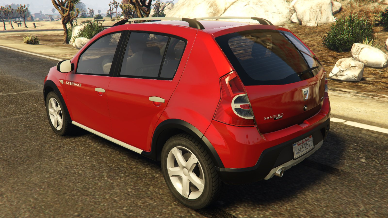dacia sandero stepway 2008 vehicules pour gta v sur gta modding. Black Bedroom Furniture Sets. Home Design Ideas
