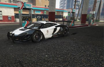 LAPD Livery for McLaren 650s GT3