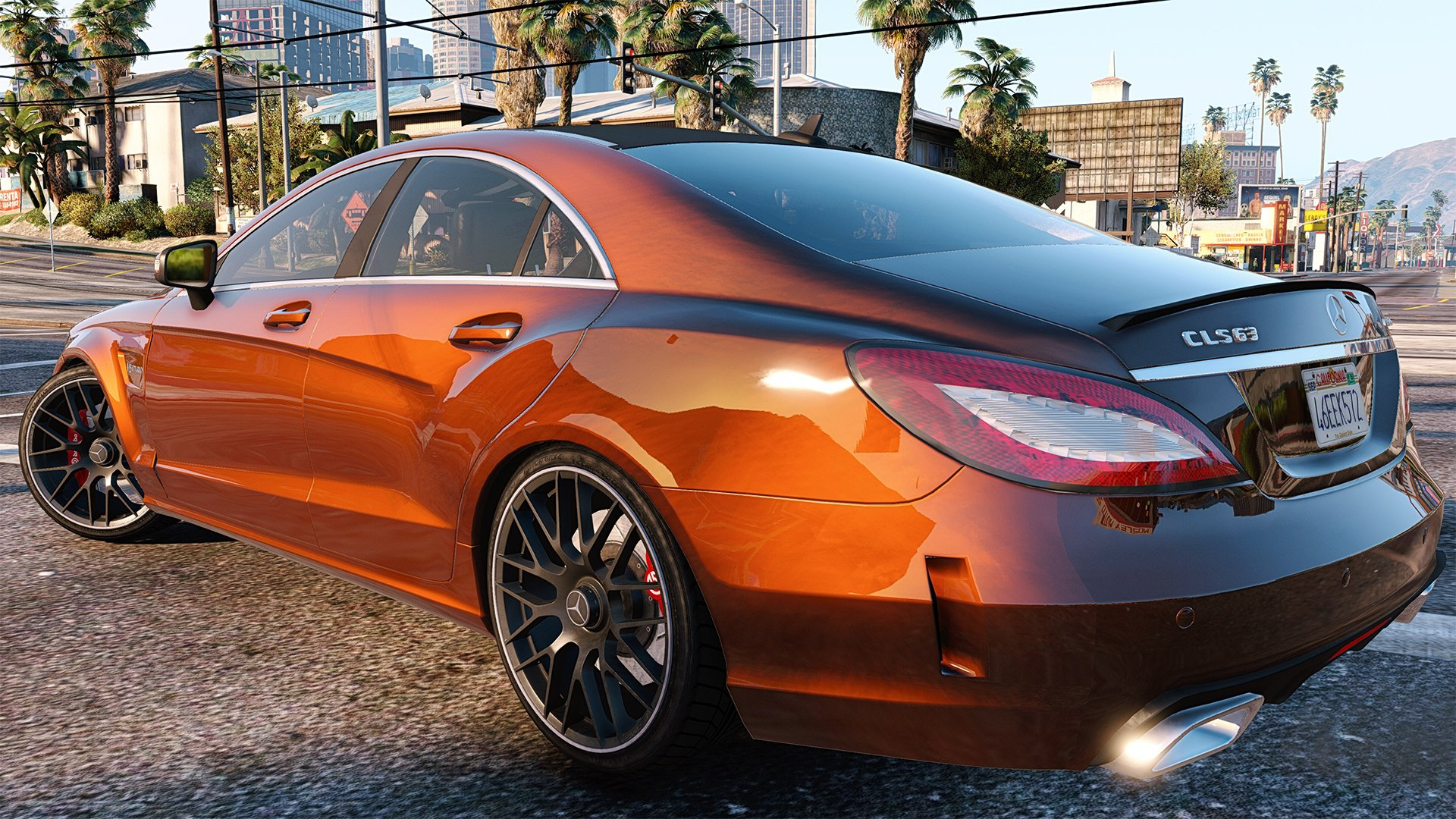 Mercedes benz cls 6 3 amg 2015 add on vehicules pour for Mercedes benz add