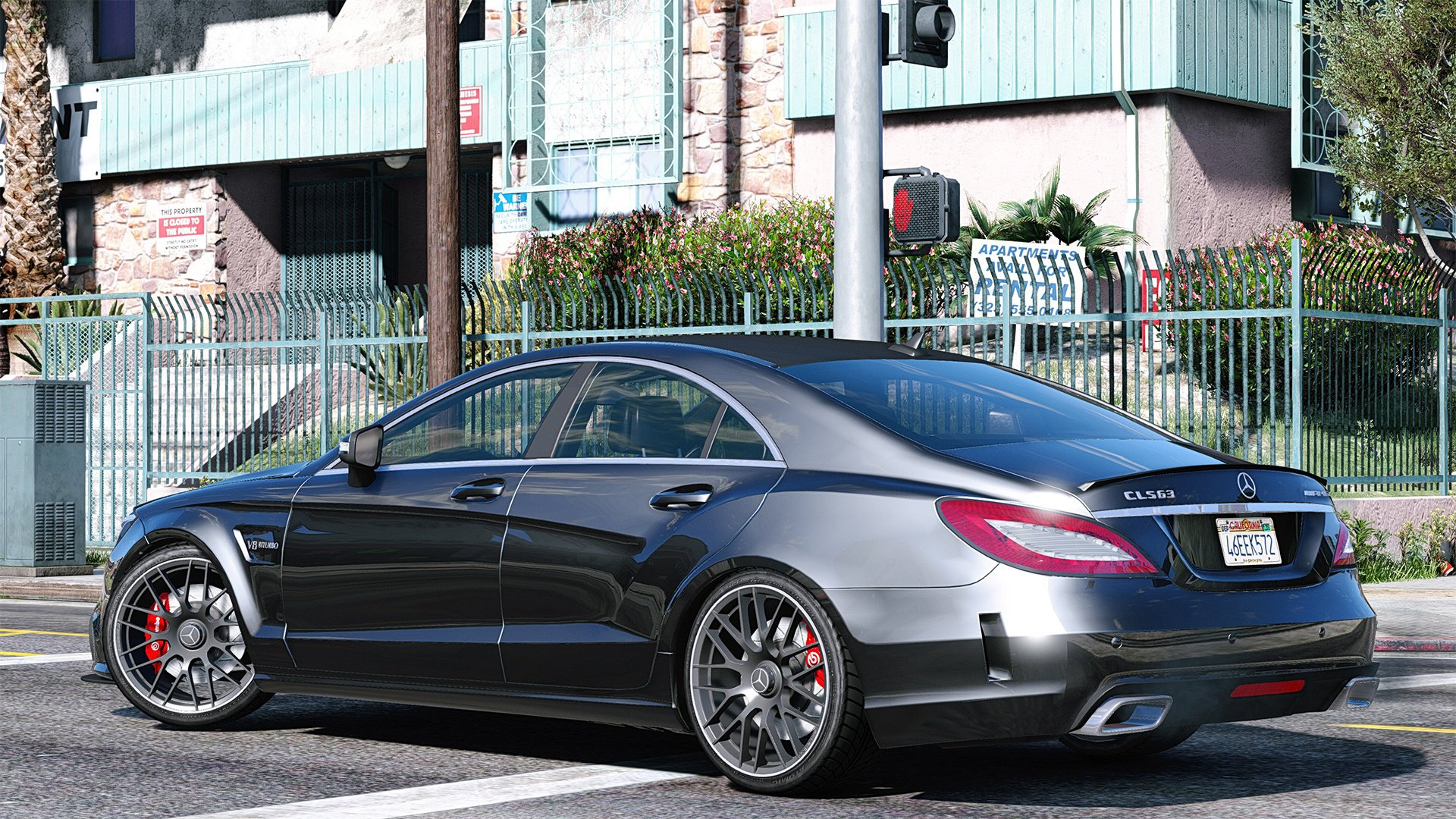Mercedes Benz Cls 6 3 Amg 2015 Add On Vehicules Pour