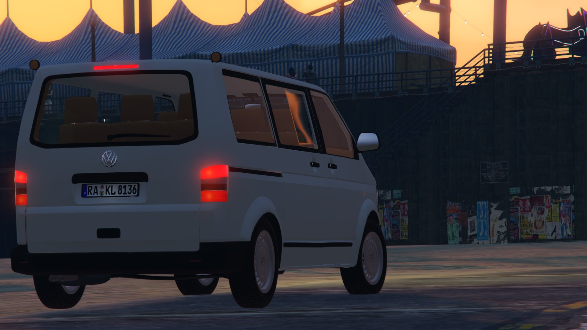 volkswagen t5 2011 facelift vehicules pour gta v sur gta modding. Black Bedroom Furniture Sets. Home Design Ideas