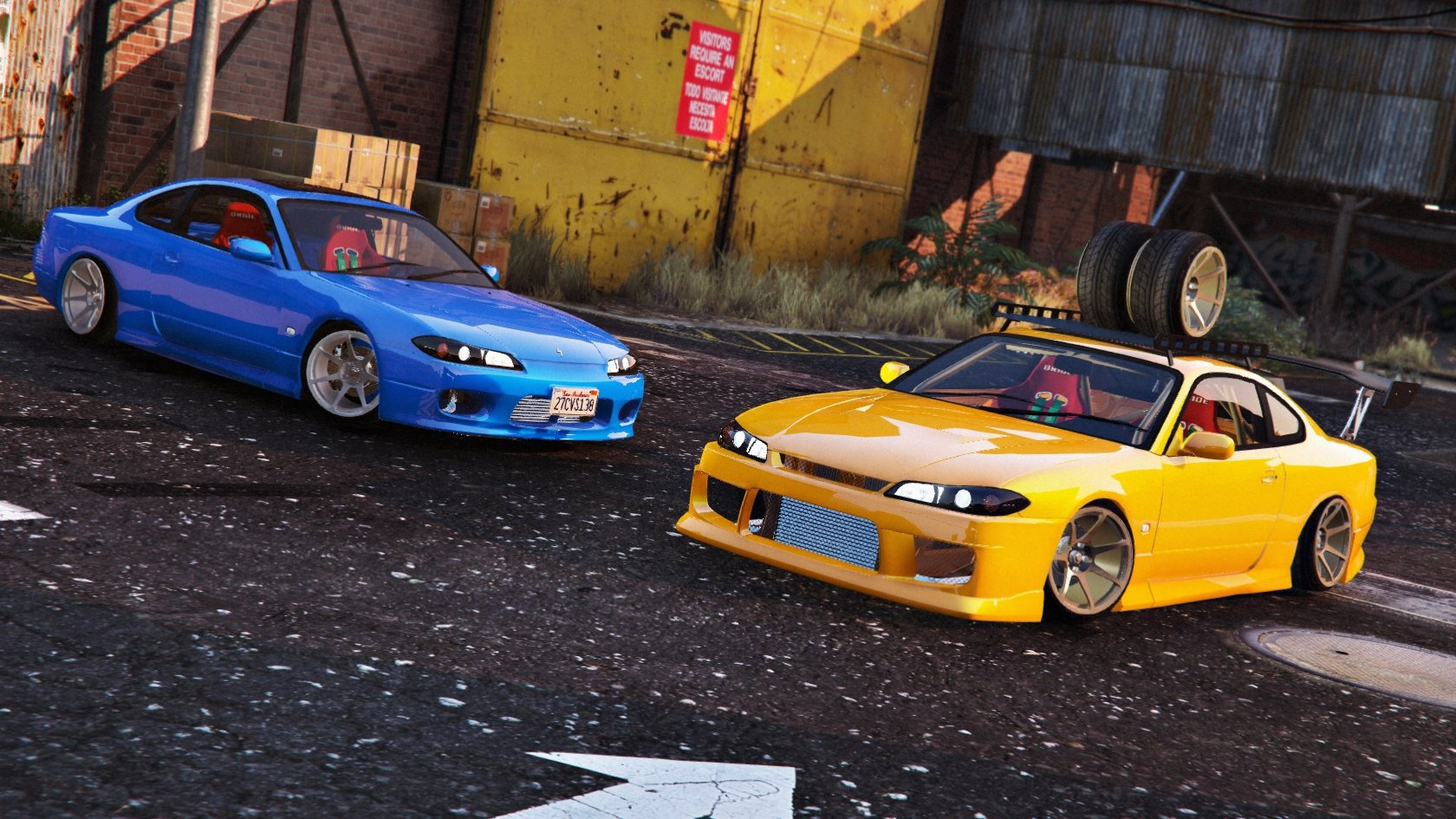 nissan silvia s15 tunable vehicules pour gta v sur gta modding. Black Bedroom Furniture Sets. Home Design Ideas