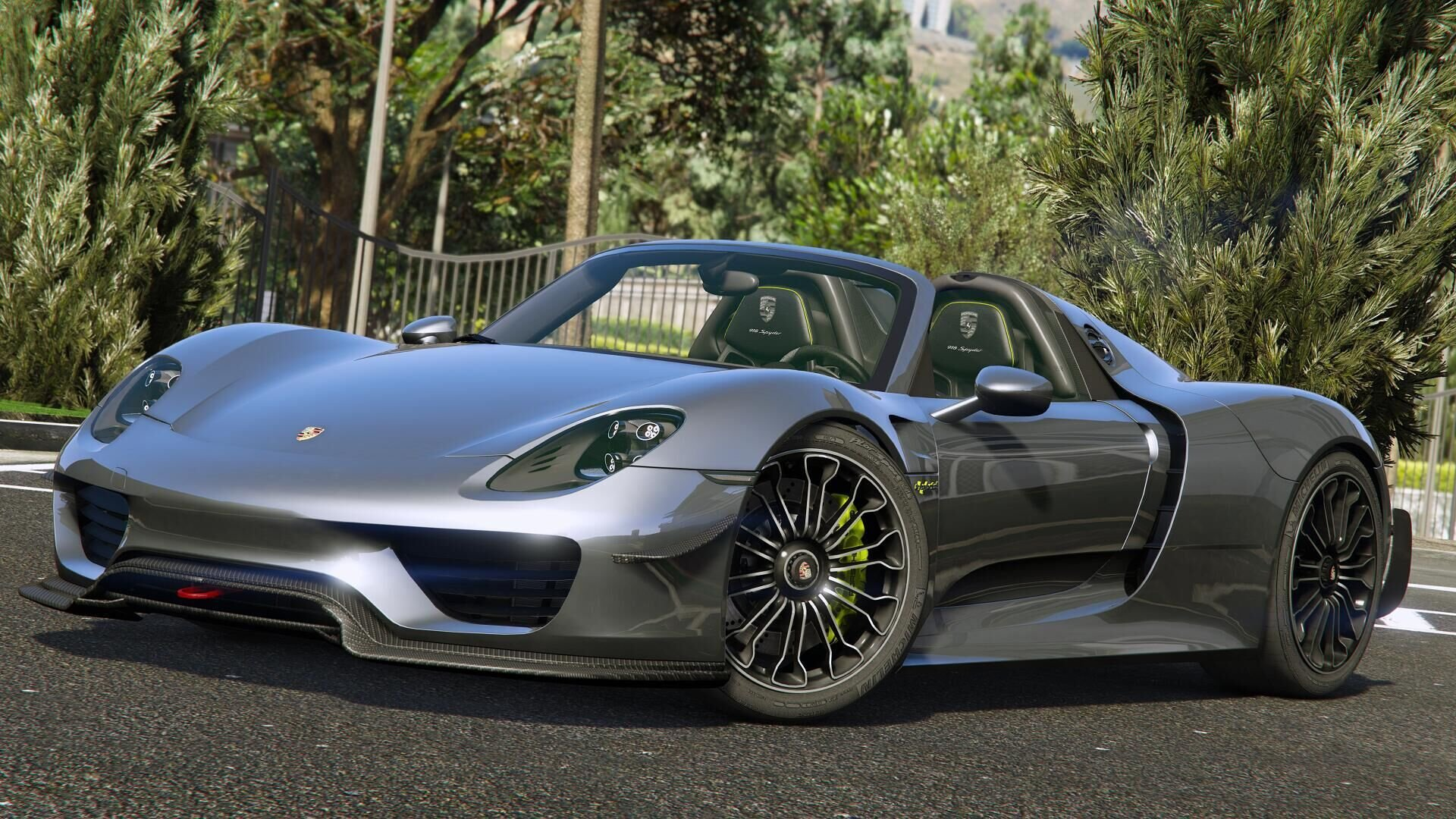 porsche 918 spyder 2015 weissach kit add on vehicules pour gta v su. Black Bedroom Furniture Sets. Home Design Ideas