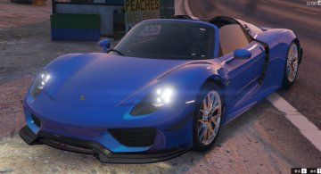 Porsche 918 Spyder 2015 & Weissach Kit [Add-On] - GTA5