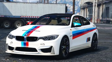 BMW M4 F82 - M stripes Paintjob