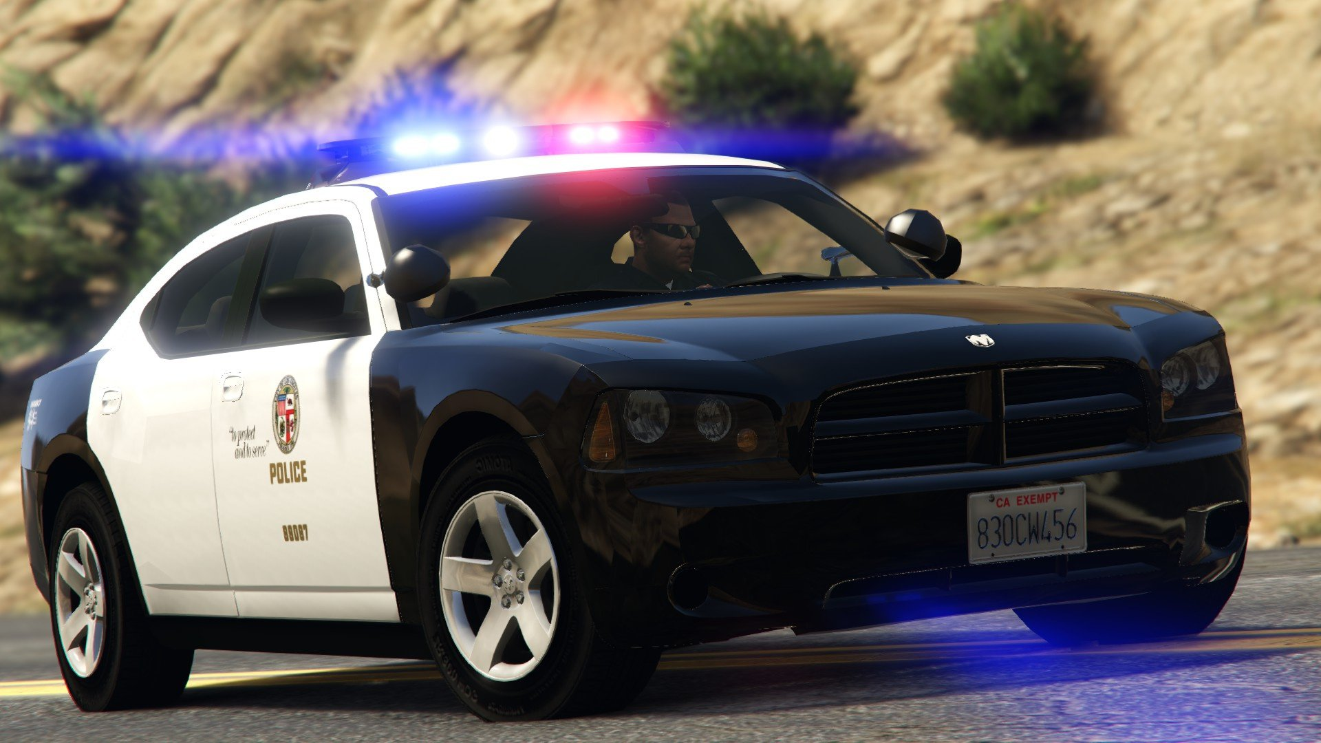 Dodge Charger 2009 Los Angeles Police Department