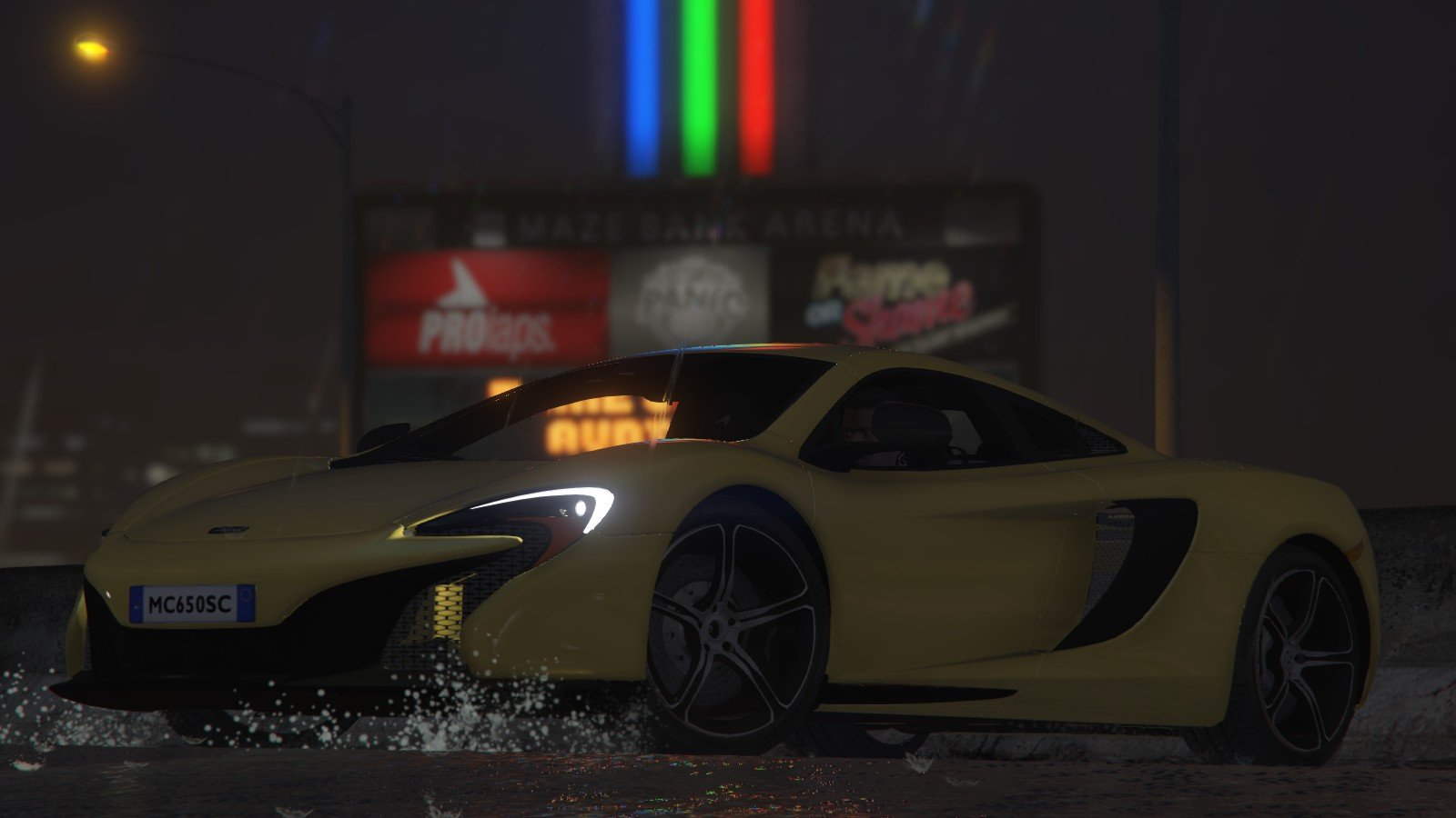 McLaren 650S Coupe [HQ] - GTA5