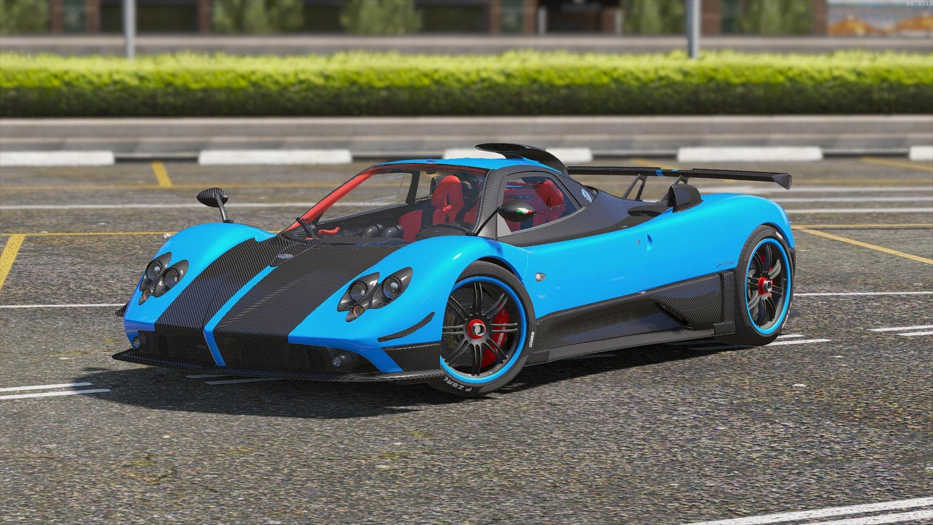pagani zonda cinque vehicules pour gta v sur gta modding. Black Bedroom Furniture Sets. Home Design Ideas