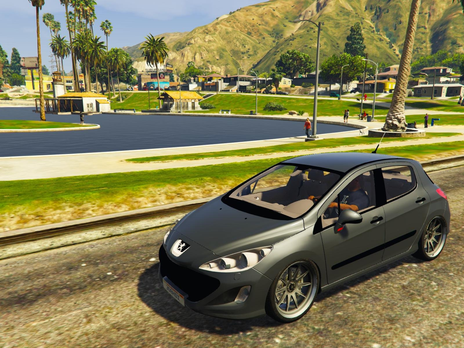 peugeot 308 hdi vehicules pour gta v sur gta modding. Black Bedroom Furniture Sets. Home Design Ideas