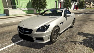 Mercedes-Benz SLK 55 AMG R172 2012 - GTA5