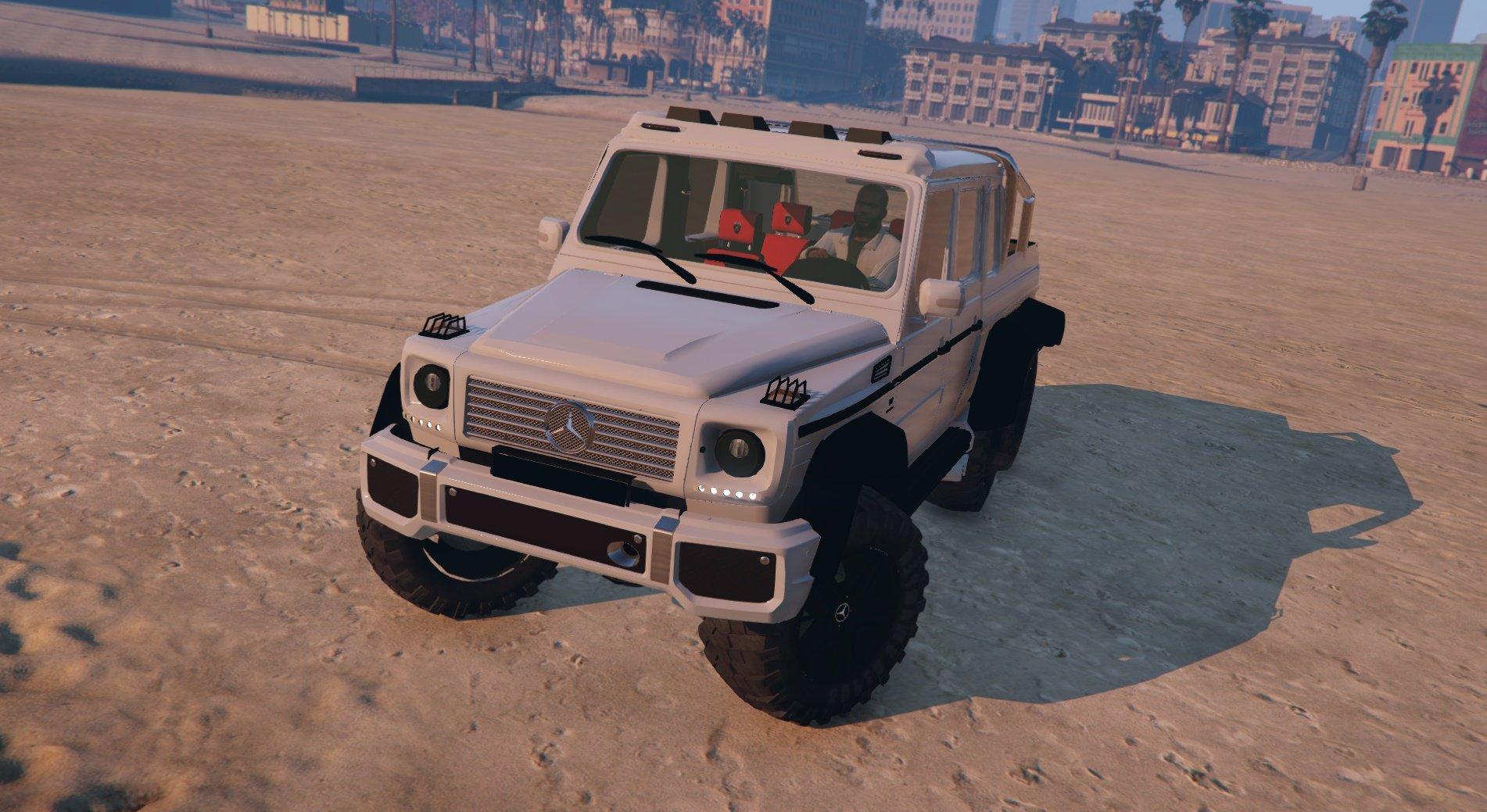 Mercedes benz g63 amg 6x6 vehicules pour gta v sur gta for Mercedes benz amg g63 6x6